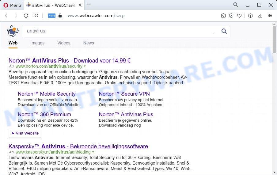 Cybersearch.xyz redirect