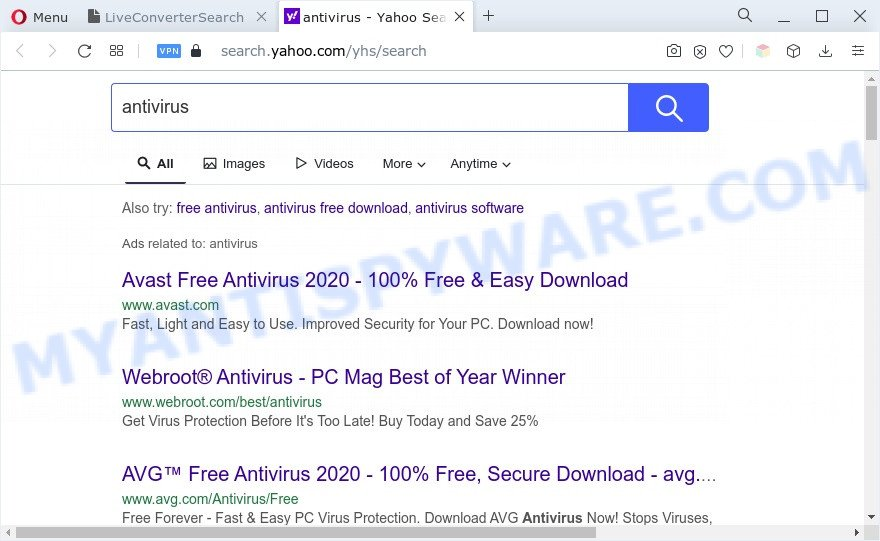 LiveConverterSearch ads