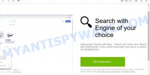 Search with Engine of your choice - install