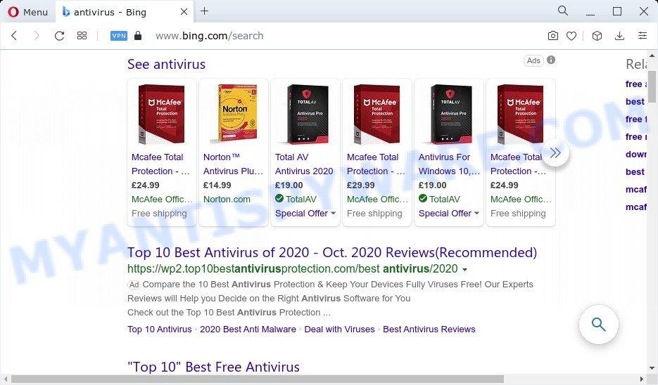 Search.searchworm.com ads