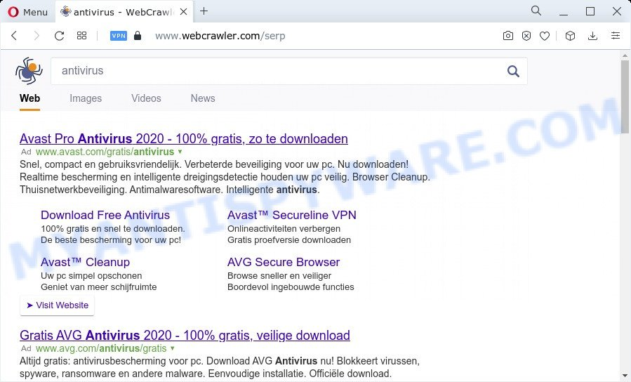 Securesearch.me ads