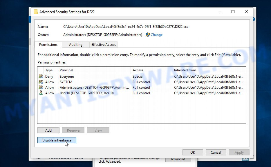 vpsh ransomware removal 6