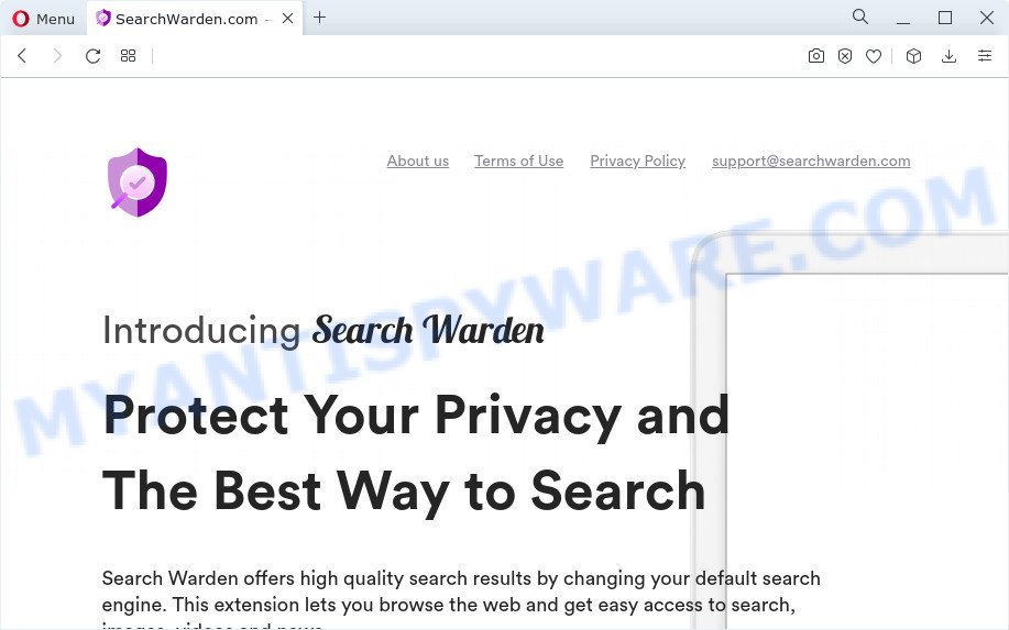 SearchGuard — Smart Search website