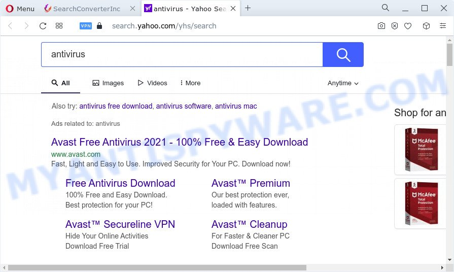 SearchConverterInc ads