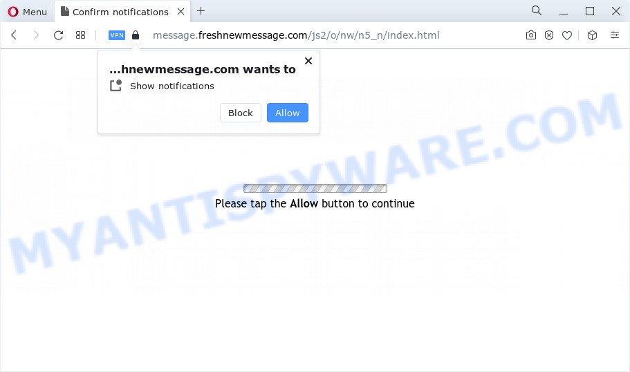 freshnewmessage.com scam