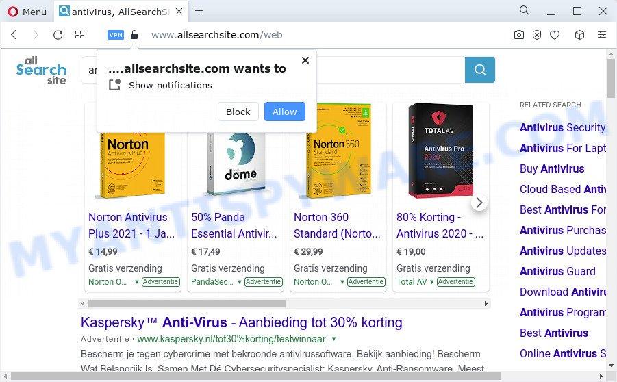 Allsearchsite.com ads