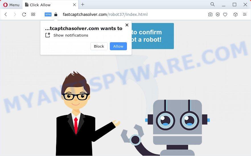 Fast Captcha Solver virus