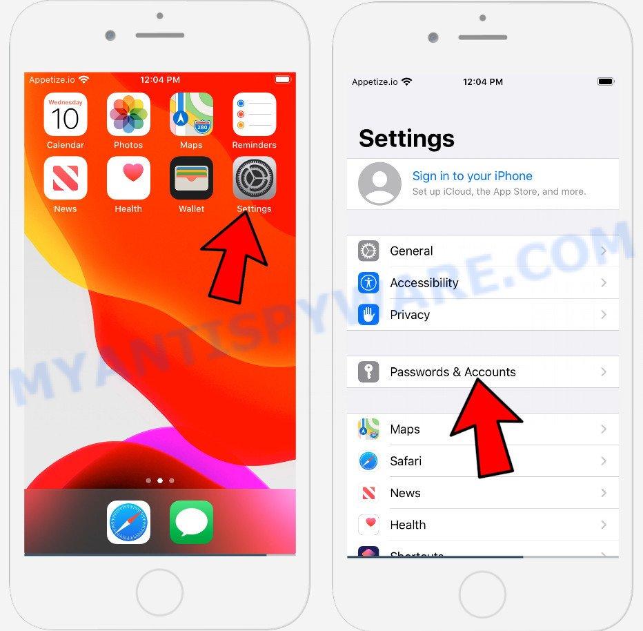 Iphone Calendar virus removal 3