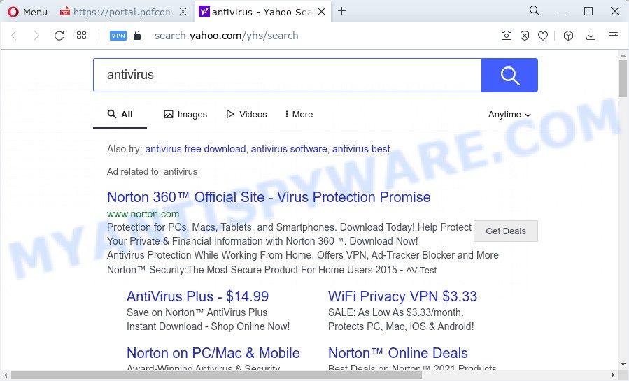 PDFConverterSearchPro ads
