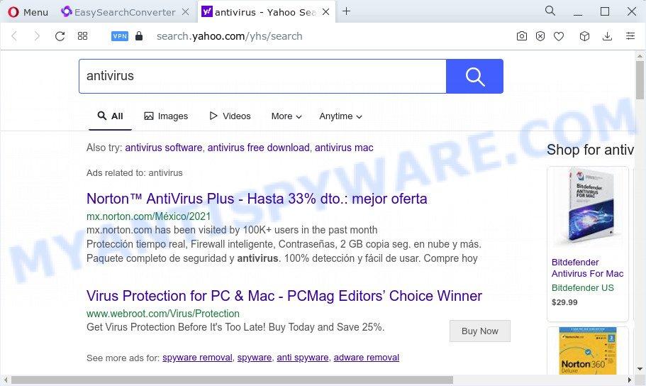 EasySearchConverter ads