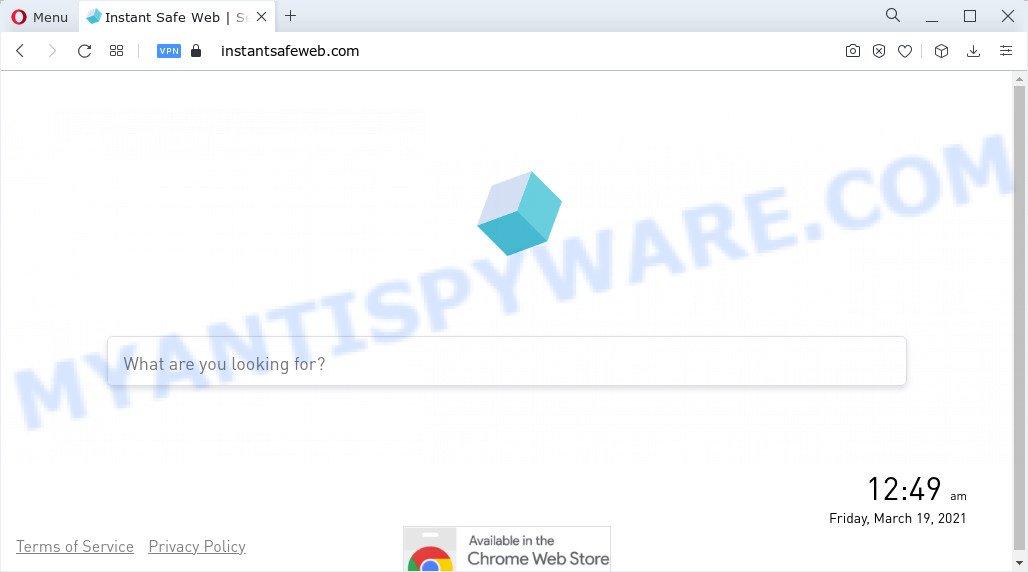 Instant Safe Web