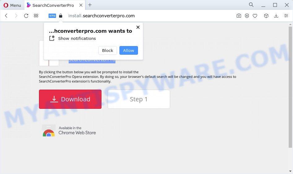 How to remove Install.searchconverterpro.com
