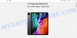 Chance To Win The New iPad Pro SCAM