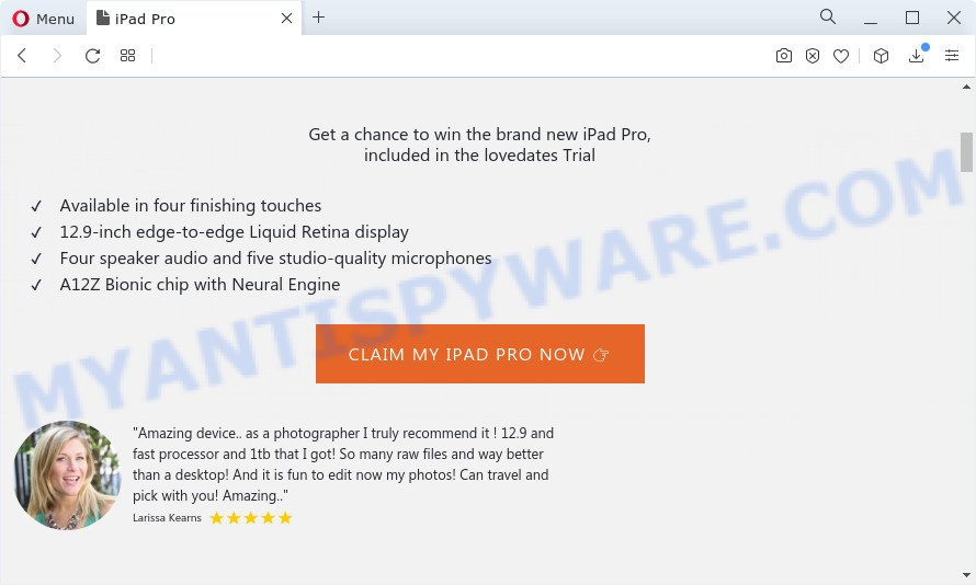 Chance To Win The New iPad Pro pop-ups