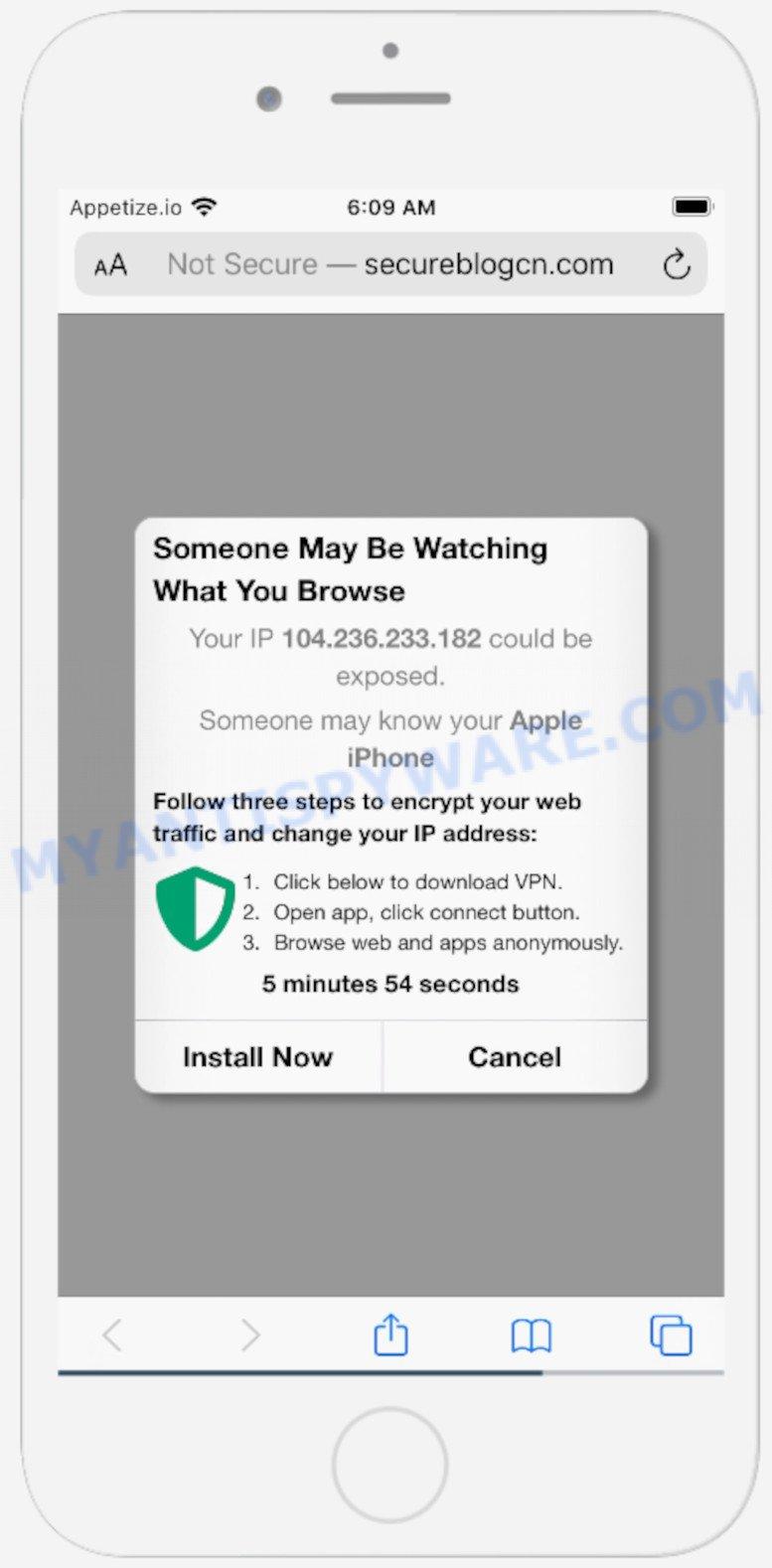 Secureblogcn.com scam