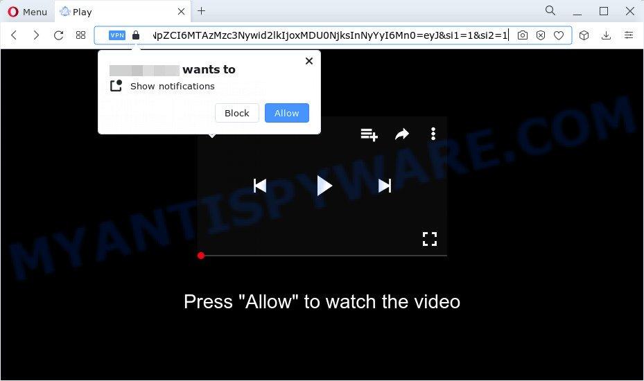 click allow scam