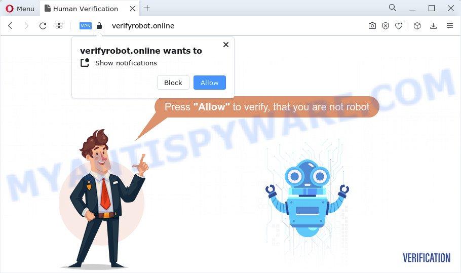 Verifyrobot.online