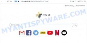Media Tab browser hijacker