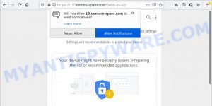 Your device might have security issues SCAM