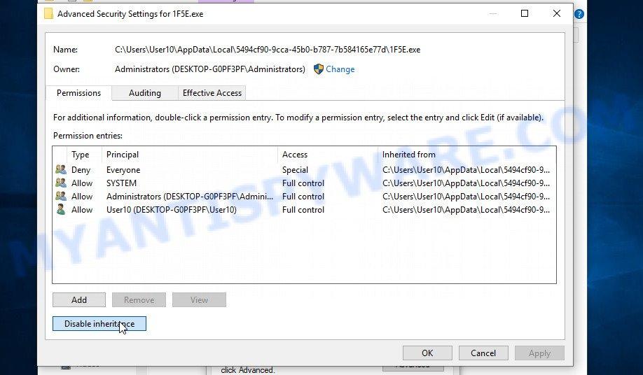 remove Ddsg virus 3