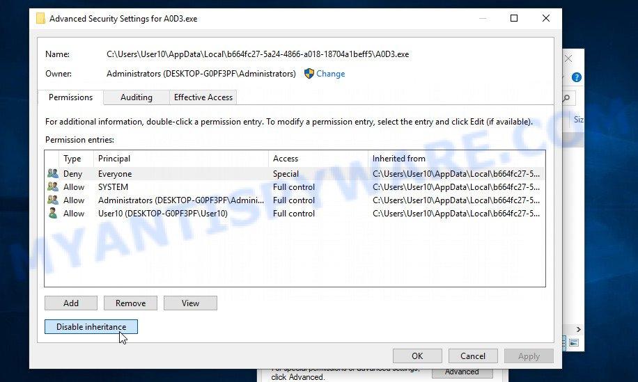remove Mppq virus 3