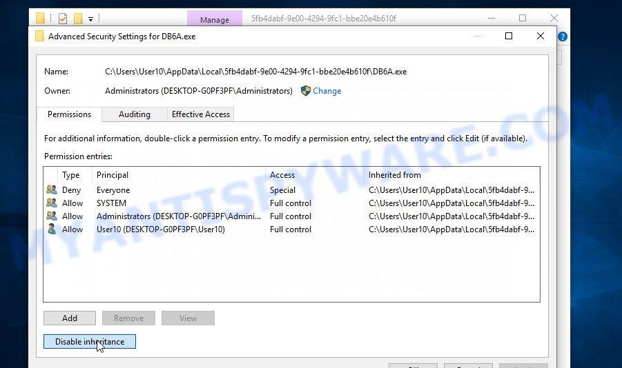 remove Piiq virus 3