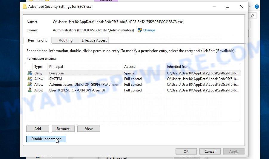remove Zzla virus 3