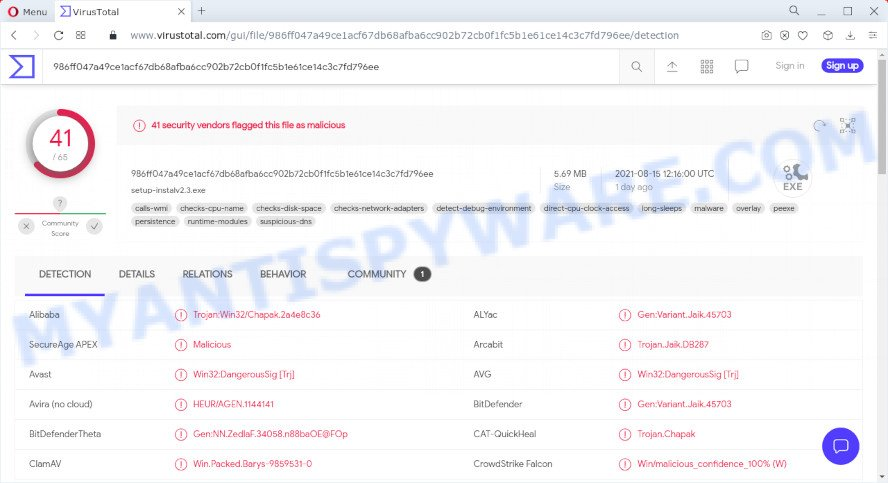 Kwiqsearch.com installer
