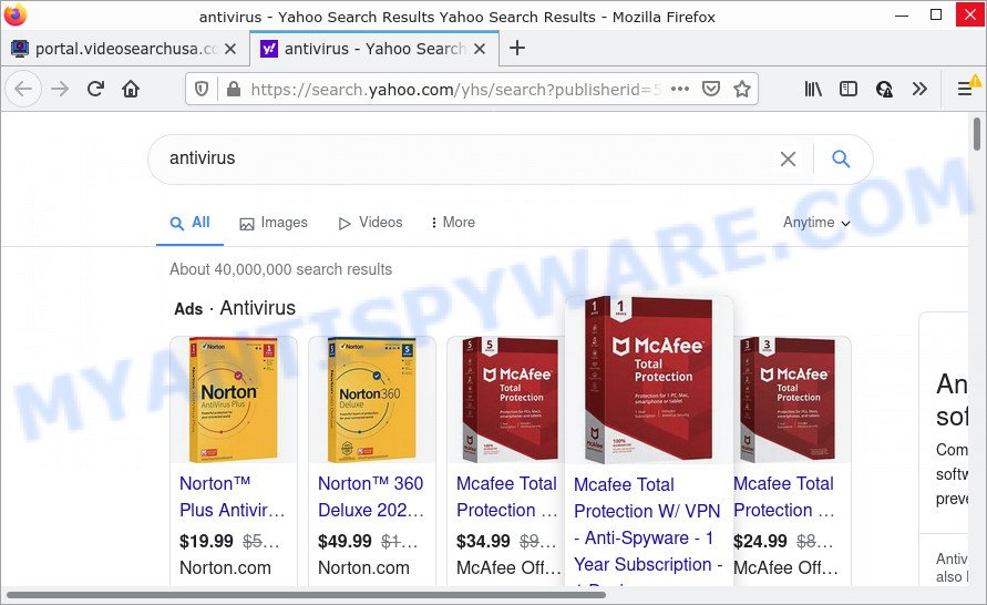 VideoSearchUSA ads