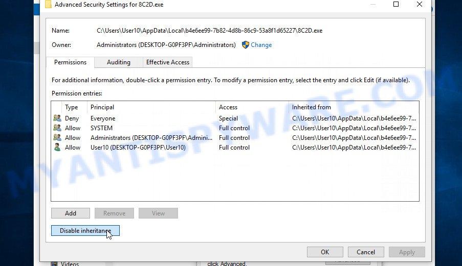 remove Lqqw virus 3