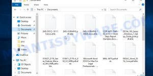 Files encrypted with .Efdc extension