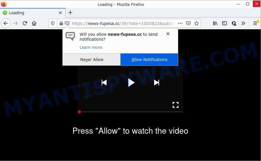 Please Allow to watch the video SCAM