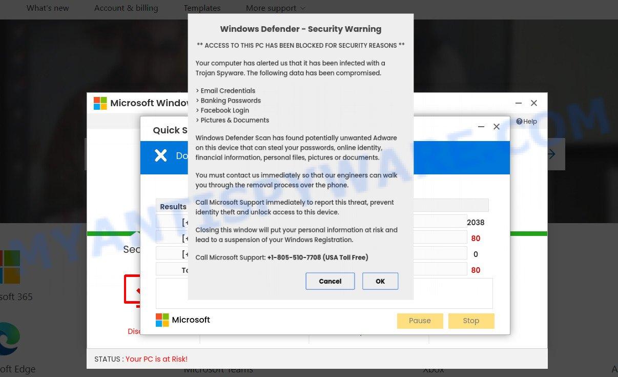Trojan Spyware Alert