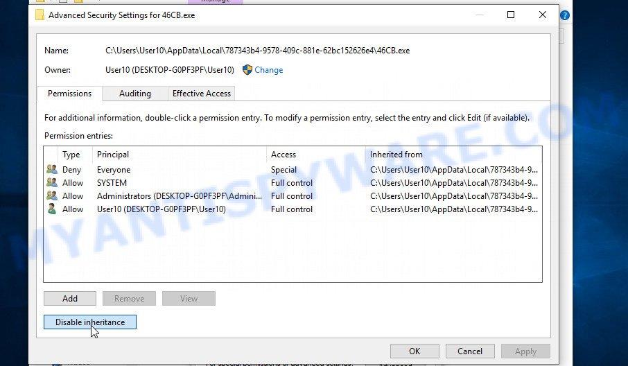 remove Koom virus 3