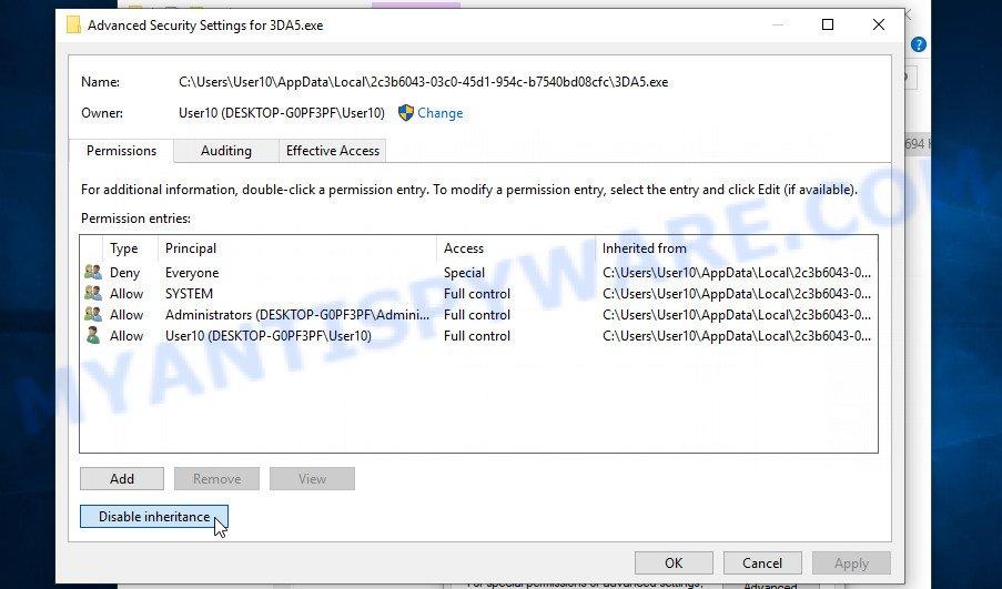 remove Rigd virus 3