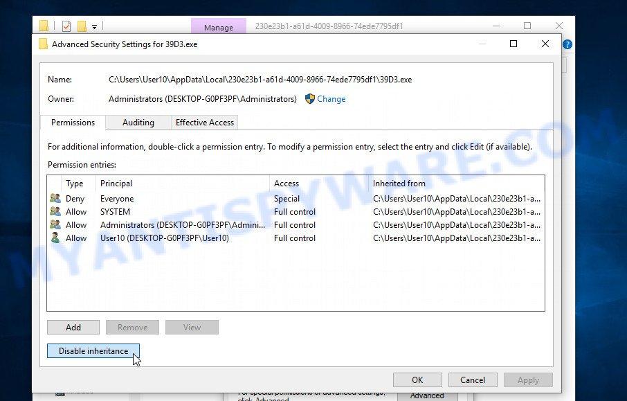 remove Nqsq virus 3